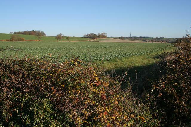Farmland off Hough Road