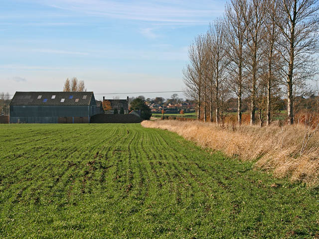 Farmland off Frieston Heath Lane