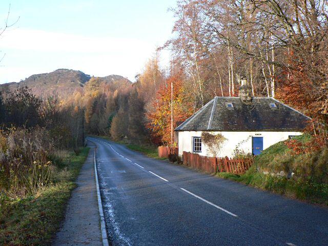 Cottage near Killecrankie