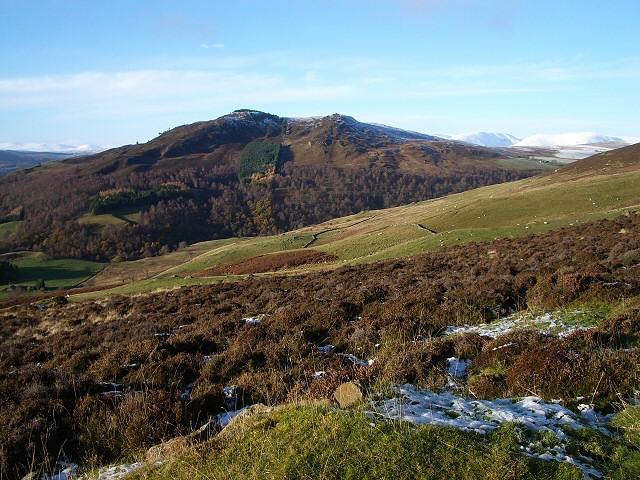 View towards Creag Eallaich