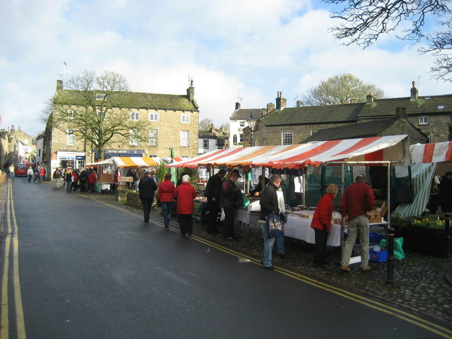 Farmers' Market, Grassington