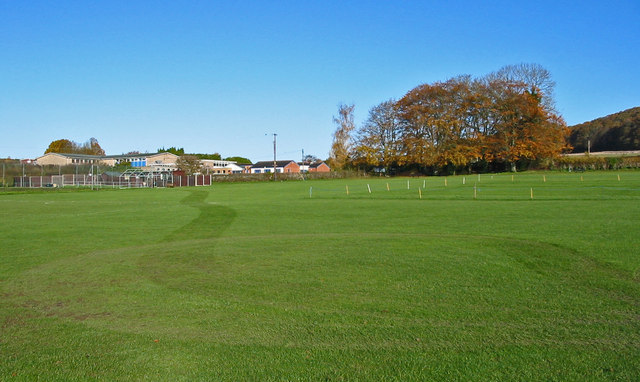 The Mick Loader memorial recreation ground Cranborne Dorset