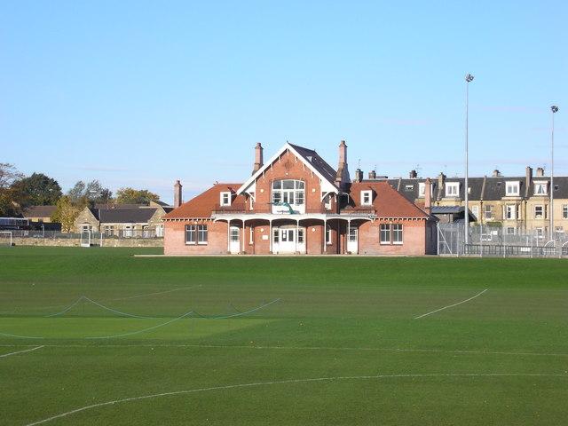 The Cricket Pavilion at Goldenacre