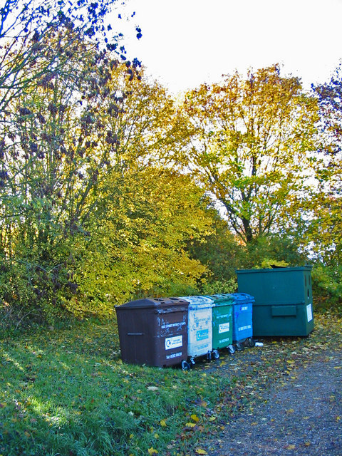 Recycling centre Cranborne Dorset
