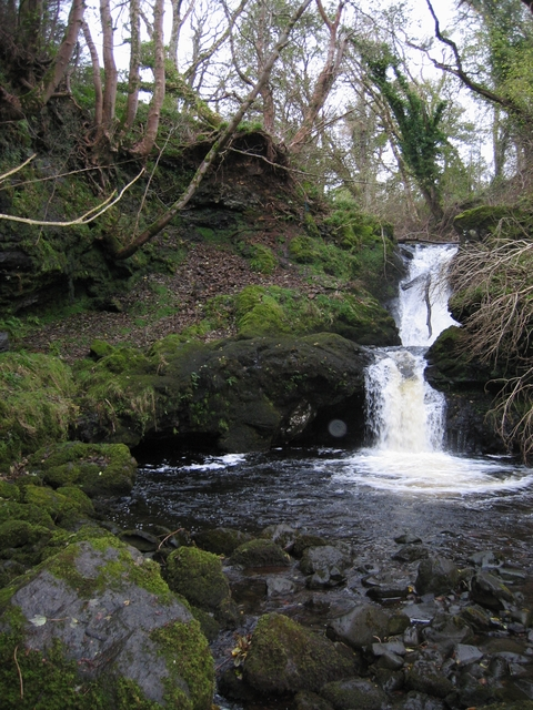 Waterfall on the River Chracaig