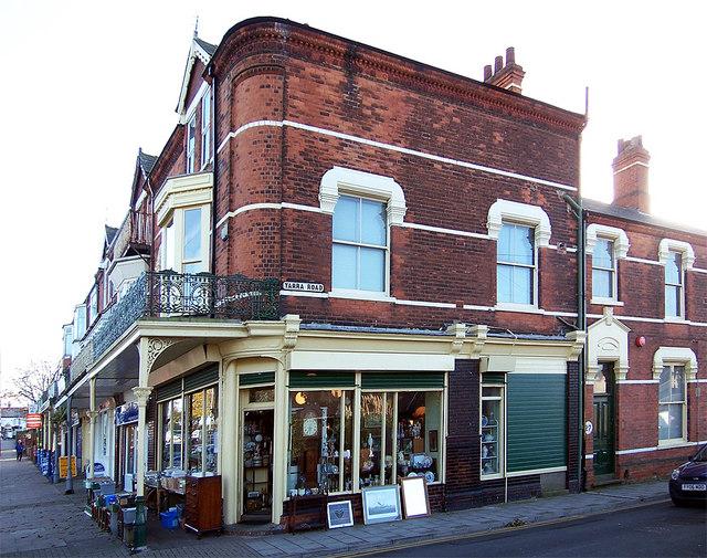 Terrace Shops on Alexandra Road.
