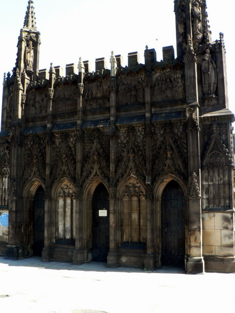 The Chantry Chapel of St Mary the Virgin, on  Wakefield Bridge
