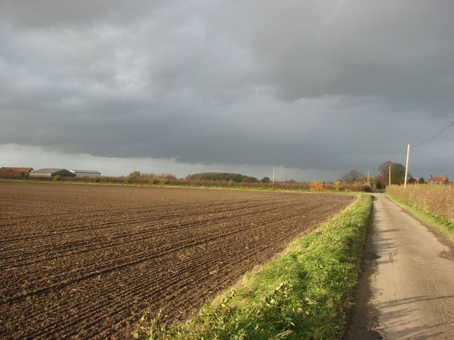 The Lane to Elf Hole Farm