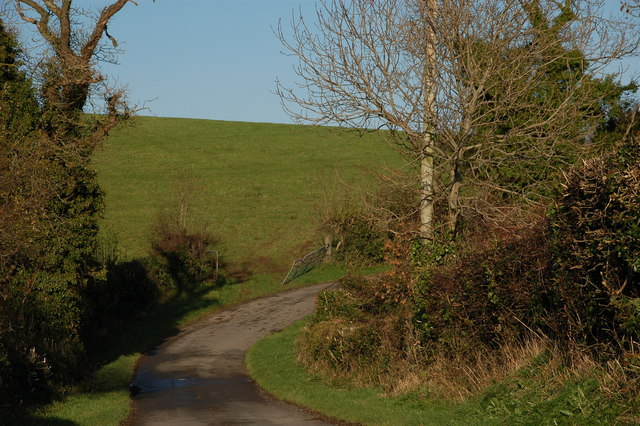 The Clay Road near Killyleagh