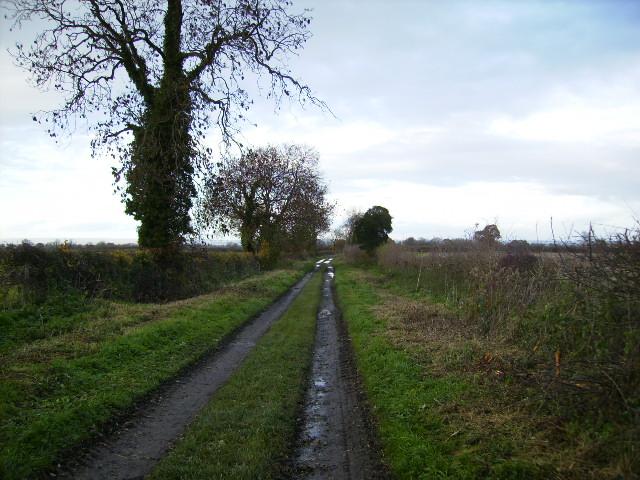Track known as Appleton Lane