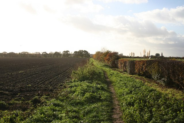 Footpath to Skellingthorpe Moor