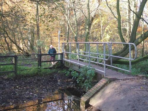 Footbridge on Monarch's Way