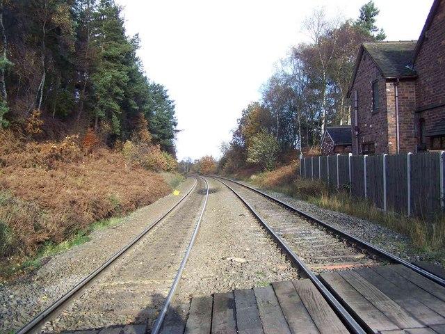 Hednesford - Rugeley Line