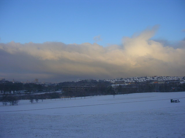 Wintry View to Torry
