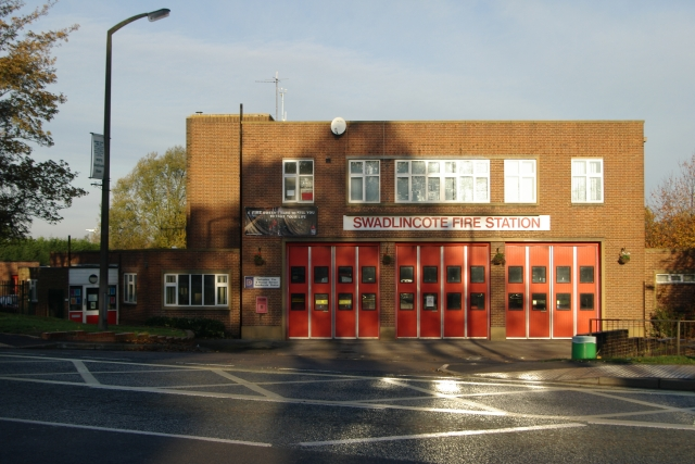 Swadlincote fire station