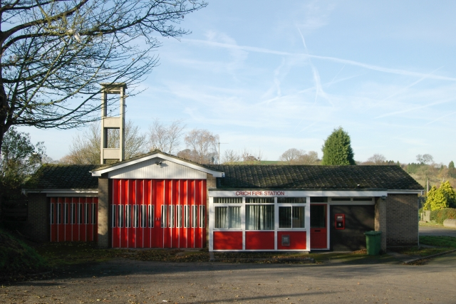 Crich fire station