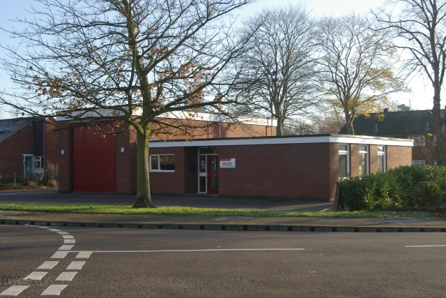 Ashby-de-la-Zouch fire station