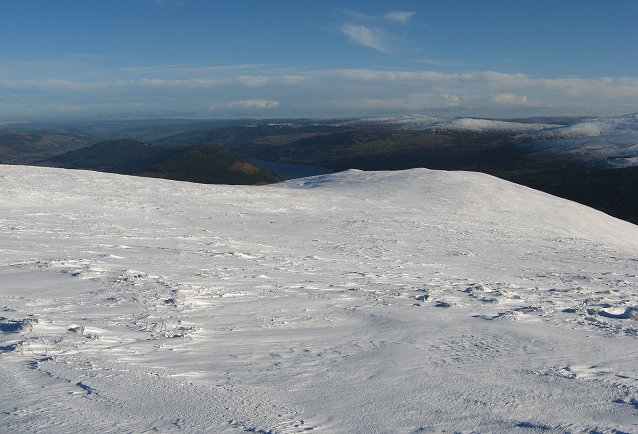 East ridge of Meall Greigh