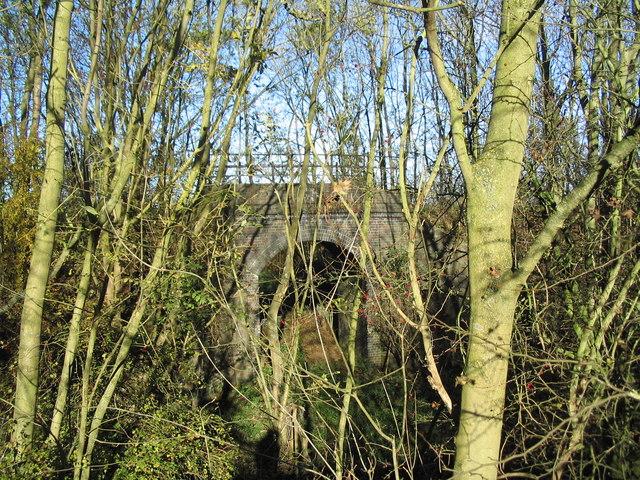 Bridge on old Woolsthorpe railway line