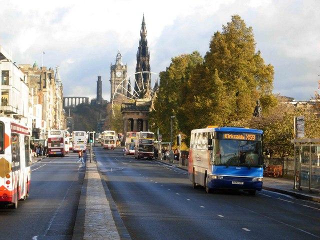 Princes Street, Edinburgh
