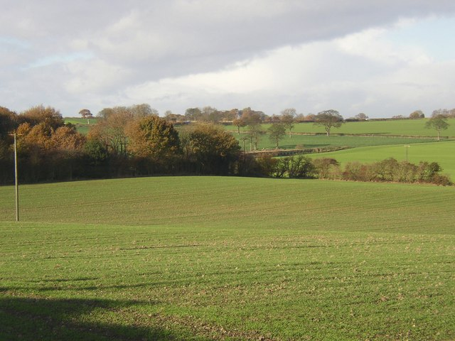 View NW from Bar Lane, Midgley, Sitlington CP
