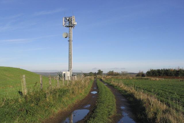 Radio Mast at Shoreswood Ewe Hill