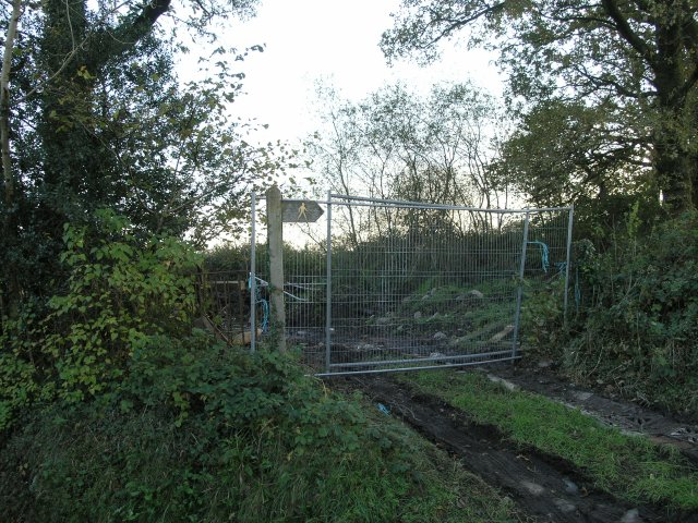 Blocked Public Footpath