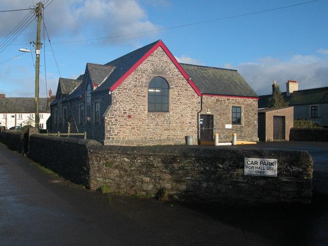 Ashreigney Parish Hall