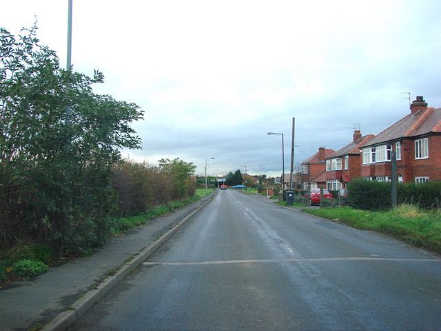 Scawsby Lane, junction with the B6422