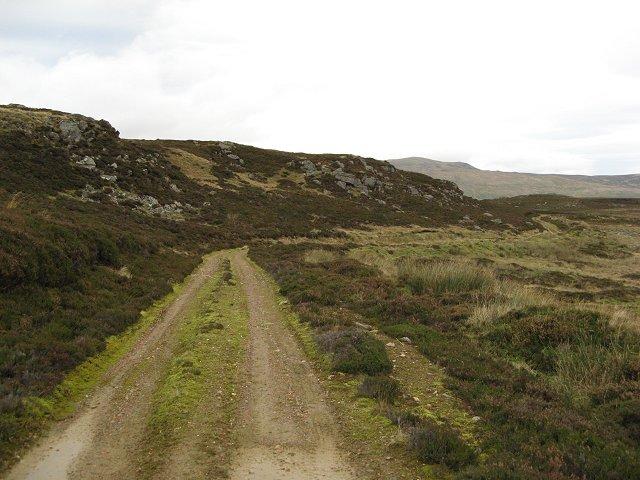 Crags on Creag Ruadh.