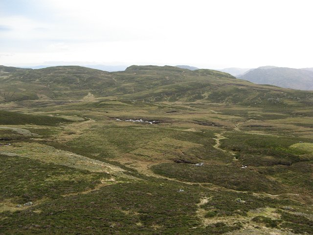 Headwaters of the Allt Mathaig
