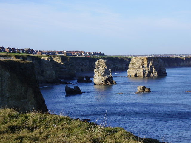 Marsden Rock from the south