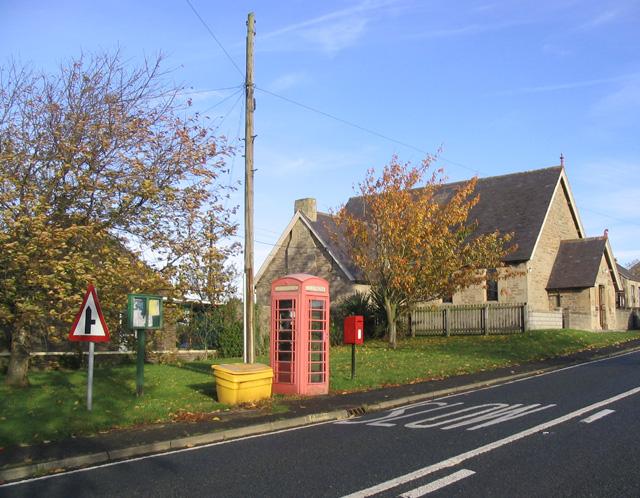 Donaldson's Lodge public services area