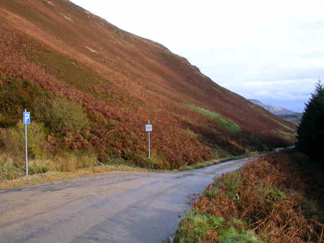 The Ross road, Monamore Glen