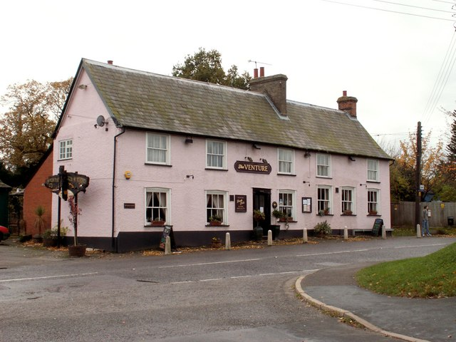 'The Venture' inn at Chelmondiston, Suffolk
