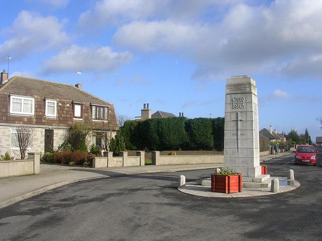 War Memorial at Dyce