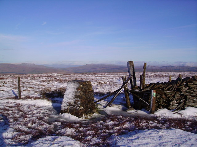 Trig Pillar, Great Knoutberry Hill