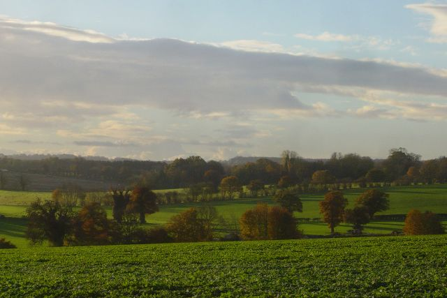 Morning light over Upton Grey
