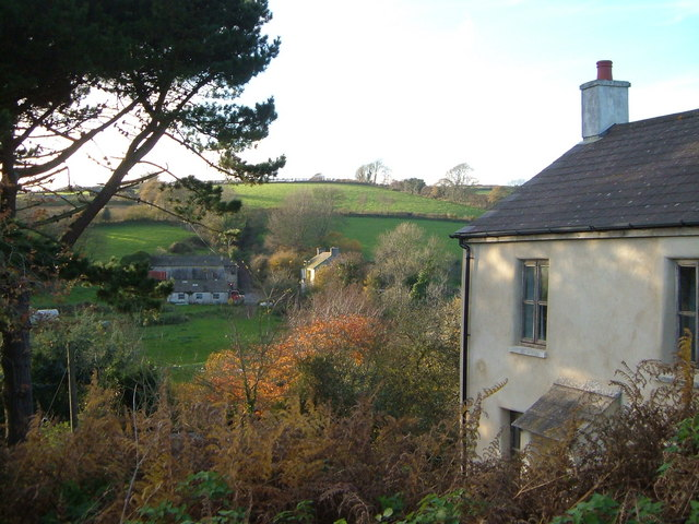 Challon's Combe from Prospect Cottage