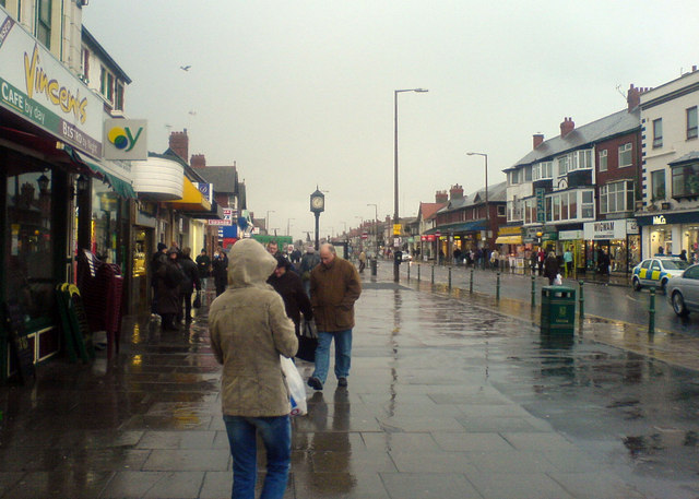 Wet day in Cleveleys