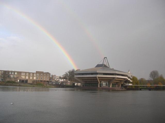 Rainbows over Central Hall