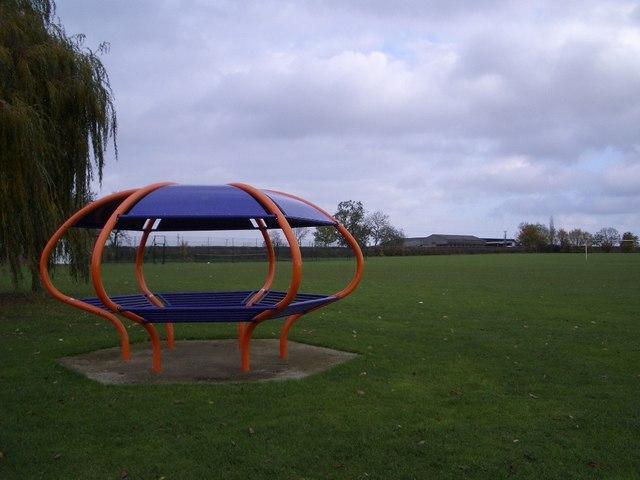 An Alien in the Playing Field, Bozeat