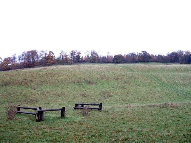 Lower slopes of Lendrick Hill