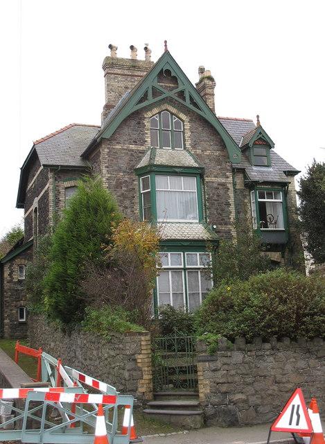 Victorian Gothic house in Ffordd y Gogledd