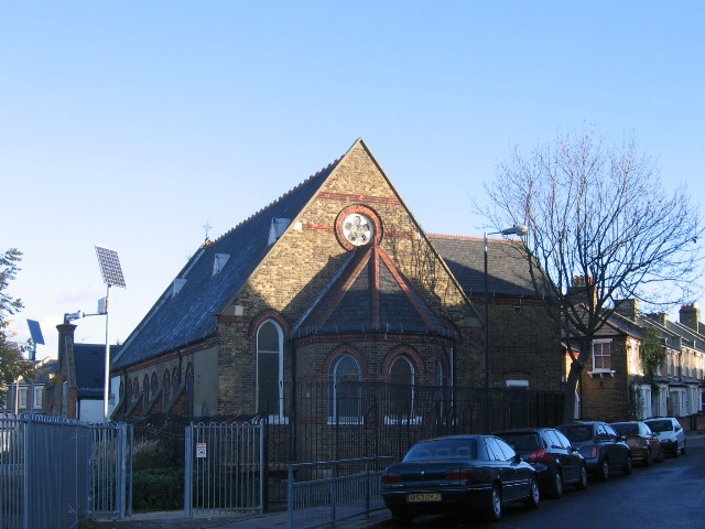 Former St John's church, Lowden Road