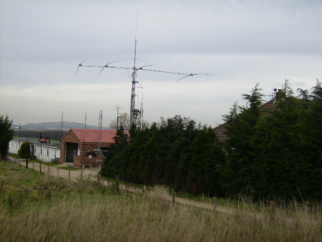 Amateur radio mast
