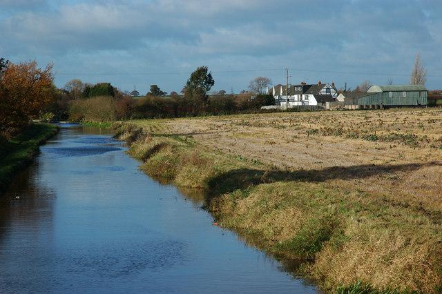 Trent & Mersey canal from Deepdale Bridge