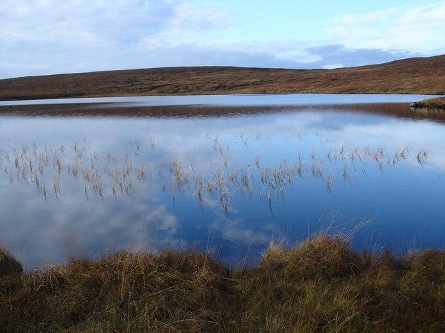 Reflection on Loch a' Mhadaidh
