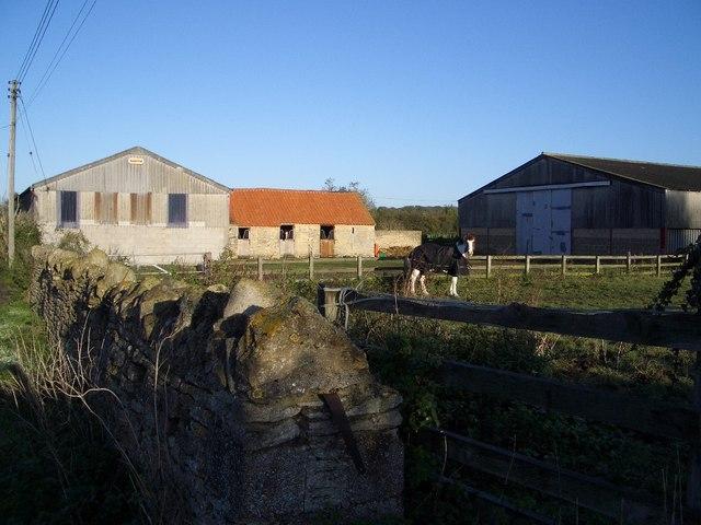Farm Buildings at end of Castle Road, Lavendon