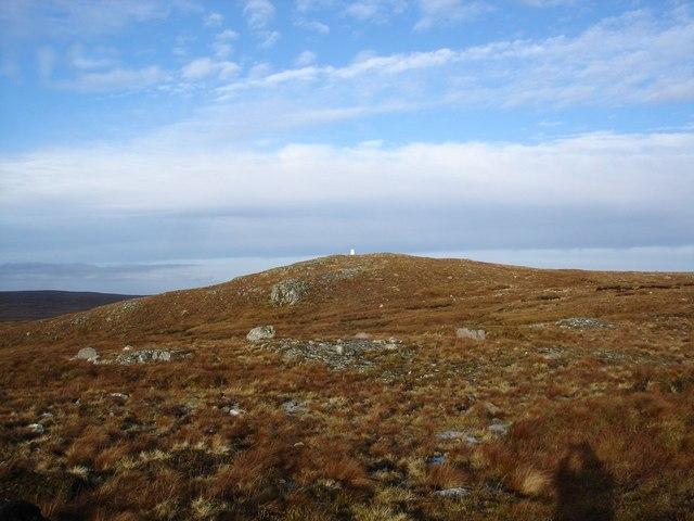 Summit of Cnoc a Breac